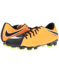 100% authentic 24da0 5719c Nike - Hypervenom Phelon Iii Fg (laser Orange white black volt)