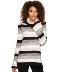 Kensie - Punk Yarn Stripe Sweater Ksdk5761 - Lyst