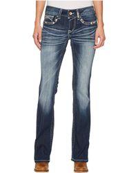 Ariat - R.e.a.l. Bootcut Chole Jeans In Marine - Lyst