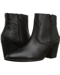 HUNTER - Refined Zip Boot Leather - Lyst