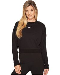 Nike - Dry Long Sleeve Crop Training Top - Lyst