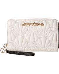 Betsey Johnson - Shell Yeah Large Wallet - Lyst