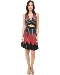 M Missoni - Petal Intarsia Open Back Dress - Lyst