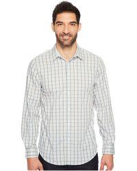 Perry Ellis - Long Sleeve Multiolor Check Shirt - Lyst