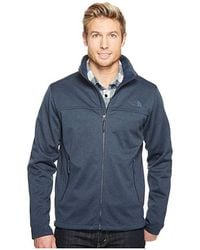 882394d5b The North Face Canyonlands Full Zip (urban Navy Heather 2) Men's ...