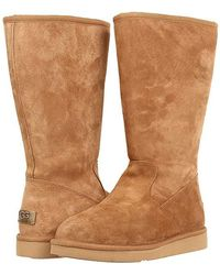 f11cc5dc2ee UGG Sumner Zip Tall Boots in Brown - Lyst