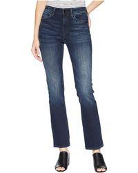 Mavi Jeans - Kendra Straight Leg Denim In Deep Ink/gold - Lyst