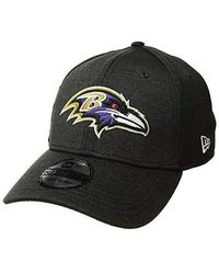 8af9eef800 39thirty Official Sideline Home Stretch Fit - Baltimore Ravens  (black/purple) Caps