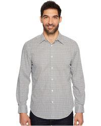 Perry Ellis - Long Sleeve Modern Geo Print Shirt - Lyst