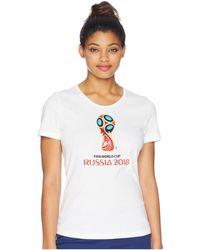 adidas - World Cup Emblem Tee - Lyst