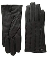 Lauren by Ralph Lauren - Modern Hand Crafted Points Touch Gloves (black 2) Extreme Cold Weather Gloves - Lyst