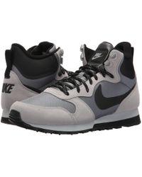 Lyst Nike Md Runner 2 Mid Premium in Black for Men Save 13%