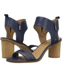 d698c30ac91 Lyst - Lucky Brand Renzee Platform Sandal in Blue