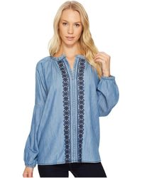 Jag Jeans - Casper Shirt In Cotton Chambray - Lyst