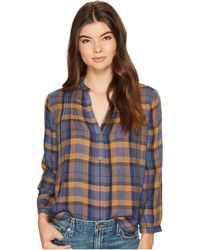 Lucky Brand - Plaid Top - Lyst