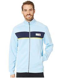 dba12f0414fa2 New Balance Athletics Track Jacket (clear Sky/black) Coat