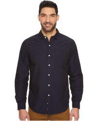 U.S. POLO ASSN. - Slim Fit Stripe, Plaid Or Print Long Sleeve Sport Shirt - Lyst