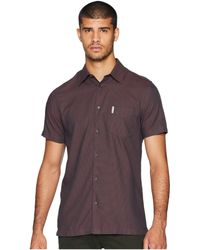 Ben Sherman - Short Sleeve Blocked Dobby Shirt - Lyst