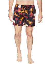 Wesc - Zack Hawaii Swimshorts - Lyst