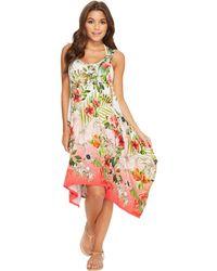 Green Dragon - Hibiscus Sublime Cordelia Beach Dress - Lyst