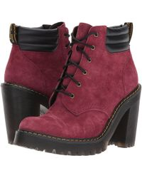 Dr. Martens | Persephone 6-eye Padded Collar Boot | Lyst