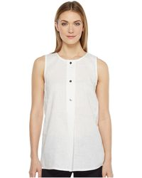 Ellen Tracy - Button Tunic - Lyst