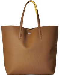 Lacoste - Anna Large Reversible Shopping Bag - Lyst