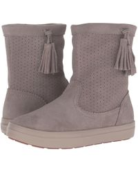 57dc16136 Crocs™ - Lodgepoint Suede Pull-on Boot Winter - Lyst
