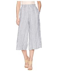 35bf718b50 Two By Vince Camuto Ikat Chevron Drawstring Pant in Blue - Lyst