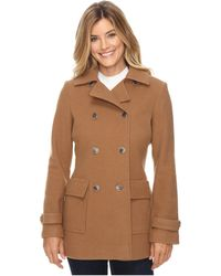 Pendleton - Double-breasted Coat - Lyst