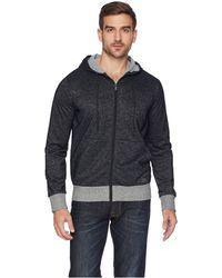 d72c16d97fbb 2xist - Athleisure - Flecked Sport Asymmetrical Hooded Sweatshirt - Lyst