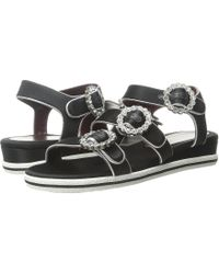 Marc By Marc Jacobs | Charlotte Strass Buckle Sandal | Lyst