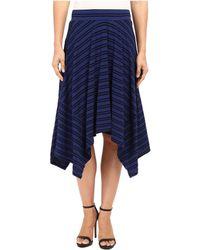 Mod-o-doc - Tonal Stripe Handkerchief Stripe Skirt - Lyst