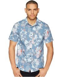 4c01ec7bad3 Lyst - Reyn Spooner Perennial Pareau Tailored Fit Aloha Shirt in ...