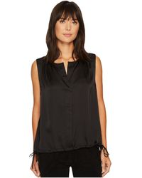 NYDJ - Sleeveless Top With Side Ties - Lyst