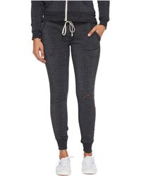 Alternative Apparel - Super Distressed Eco-fleece Jogger Pants - Lyst