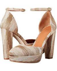 M Missoni - Lurex Heels - Lyst