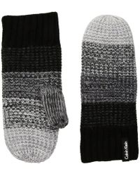 CALVIN KLEIN 205W39NYC - Ombre Knit Mittens - Lyst