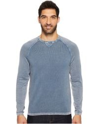 Mod-o-doc - Solana Raglan Long Sleeve Crew Sweater - Lyst