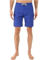 Scotch & Soda | Long Length Swim Shorts In Solid & All Over Printed | Lyst