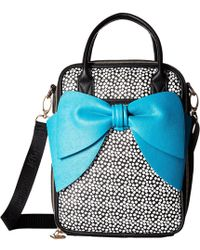 Betsey Johnson | Bow Chow Bella Lunch Tote | Lyst