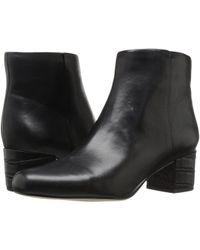 Sam Edelman - Edith Leather Ankle Boots - Lyst