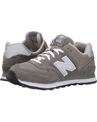 7746237ac3 Lyst - New Balance M574 in Blue for Men