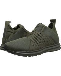 Lyst - Puma Basket Platform Leather in Black for Men 22b574634