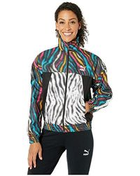 f4327c9c75a9 PUMA - Wild Pack Cropped Jacket ( Black/colour/zebra) Clothing - Lyst
