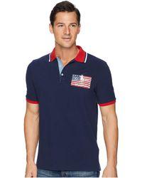 Polo Ralph Lauren - American Flag Pique Polo - Lyst