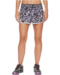 New Balance - Printed Accelerate 2.5 Shorts - Lyst