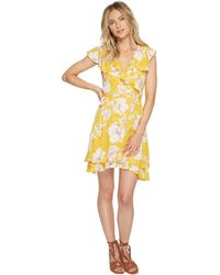 1ef84493902b6 Free People - French Quarter Printed Mini Dress - Lyst