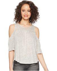 BB Dakota - Oliana Cold Shoulder Knit Top - Lyst