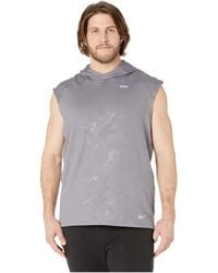249e59c234280 Lyst - Nike Dry Element Running Hoodie in Gray for Men